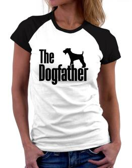 The dogfather Fox Terrier Women Raglan T-Shirt
