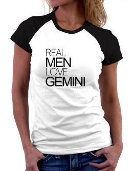 Polo Raglan de Real men love Gemini