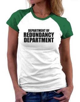 Polo Raglan de Department Of Redundancy Department