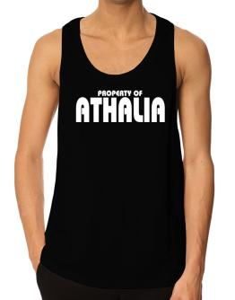 Property Of Athalia Tank Top