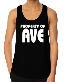 Property Of Ave Tank Top