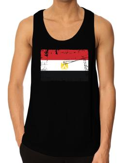 """ Egypt - Vintage Flag "" Tank Top"