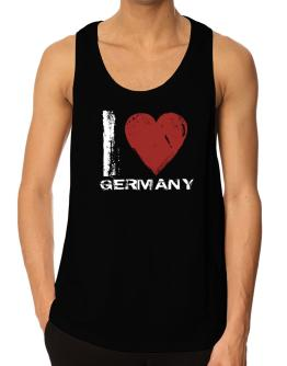 I Love Germany - Vintage Tank Top
