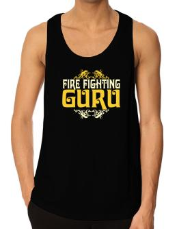 Fire Fighting Guru Tank Top