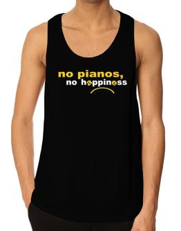 Playeras Bividi de No Pianos No Happiness