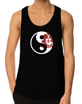 Yin Yang Dog Tank Top