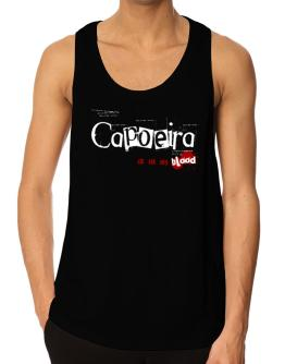 Capoeira Is In My Blood Tank Top