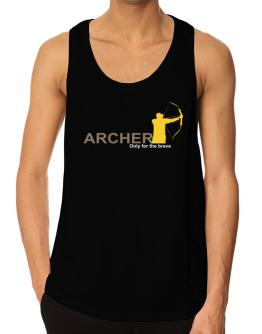Archery - Only For The Brave Tank Top