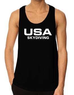Usa Skydiving / Athletic America Tank Top