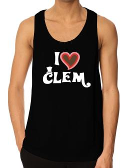 I Love Clem Tank Top