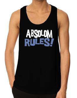 Absolom Rules! Tank Top