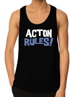 Acton Rules! Tank Top