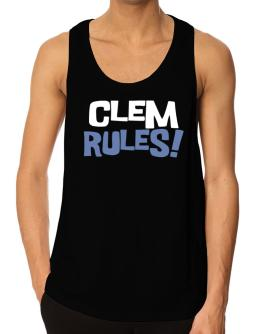 Clem Rules! Tank Top