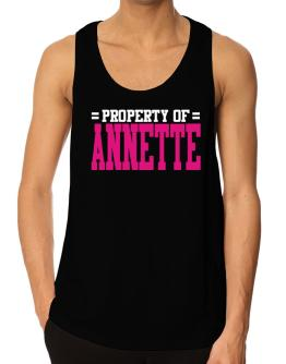 Property Of Annette Tank Top