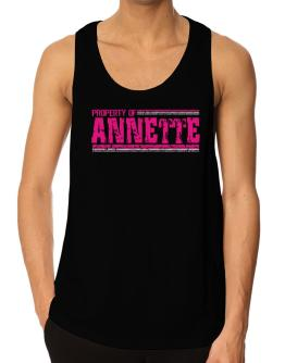 Property Of Annette - Vintage Tank Top