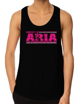 Property Of Aria - Vintage Tank Top
