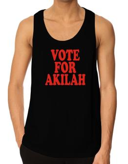 Vote For Akilah Tank Top