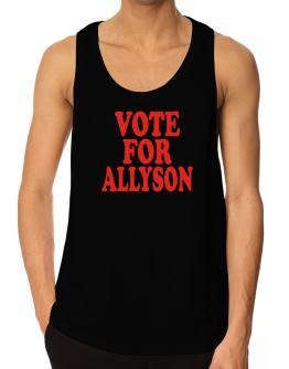 Vote For Allyson Tank Top