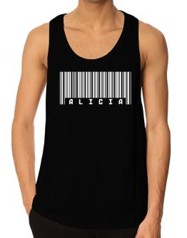 Alicia - Barcode Tank Top