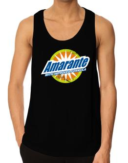 Amarante - With Improved Formula Tank Top