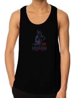 I Want You To Speak Quebec Sign Language Or Get Out! Tank Top