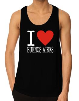 I Love Buenos Aires Classic Tank Top