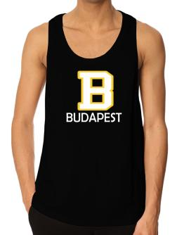 """"""" Budapest - Initial """" Tank Top"""