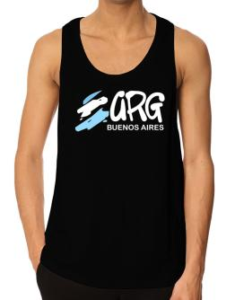 BRUSH ISO CODE Buenos Aires Tank Top