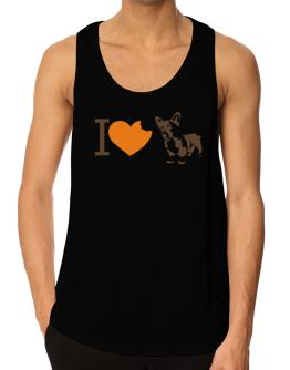 I love Pembroke Welsh Corgis Tank Top