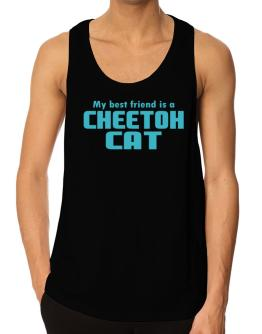 My Best Friend Is A Cheetoh Tank Top