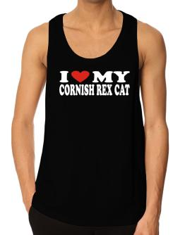 I Love My Cornish Rex Tank Top