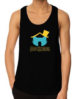Home Is Where Cymric Is Tank Top