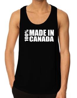 100% Made In Canada Tank Top