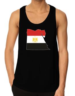 Egypt - Country Map Color Simple Tank Top