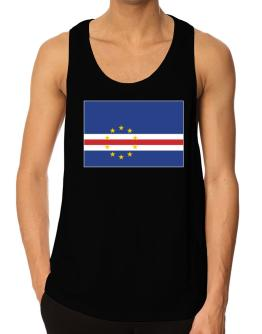 Cape Verde Flag Tank Top