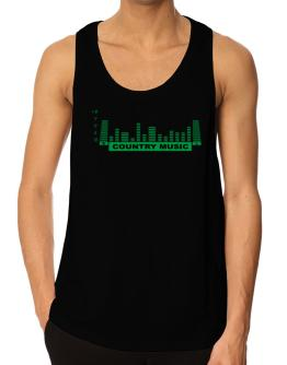 Country Music - Equalizer Tank Top