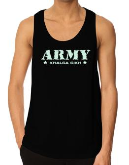 Army Khalsa Sikh Tank Top