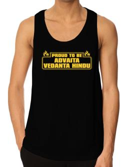 Proud To Be Advaita Vedanta Hindu Tank Top