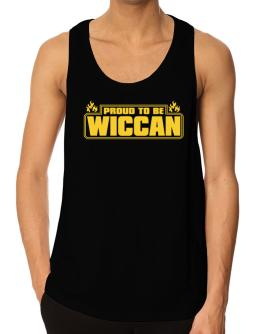 Proud To Be Wiccan Tank Top