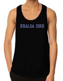 Khalsa Sikh - Simple Athletic Tank Top