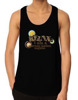 Relax, I Am An American Mission Anglican Tank Top