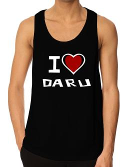 I Love Daru Tank Top
