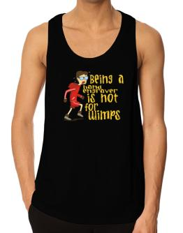 Being A Hand Engraver Is Not For Wimps Tank Top