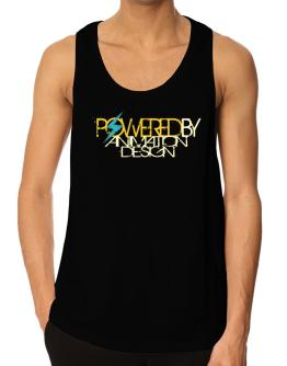 Powered By Animation Design Tank Top