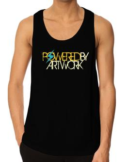 Powered By Artwork Tank Top