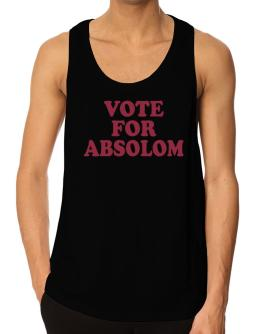 Vote For Absolom Tank Top