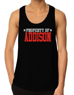 """ Property of Addison "" Tank Top"