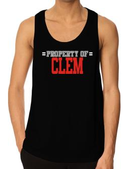 """ Property of Clem "" Tank Top"