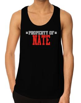 """ Property of Nate "" Tank Top"