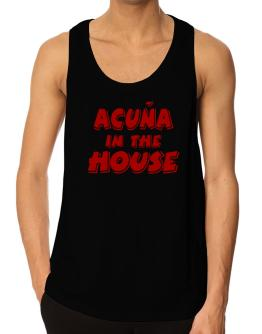 Acuña In The House Tank Top